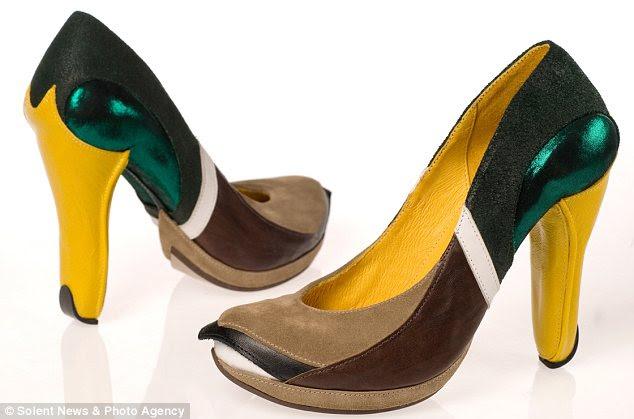 Destacam-se pela multidão: Estes sapatos Mallard - desenhado por Kobi Levi - estão garantidos para você reparou