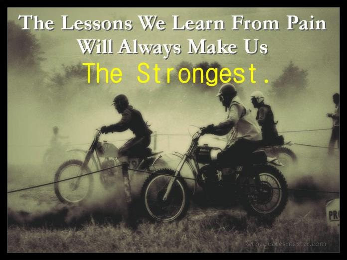 The Lessons We Learn From Pain