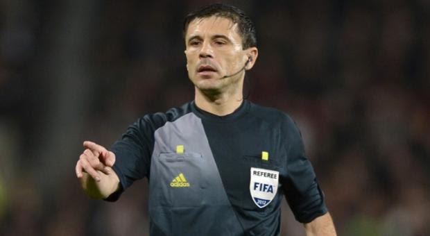 Milorad Mazic arbitra o Fenerbahçe-Benfica