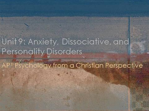 Psychology Unit 9 Anxiety Disorders+ |authorSTREAM