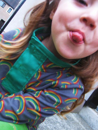 rainbow shirt cheeky
