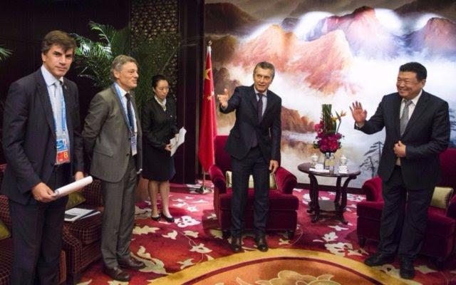 Macri se reunió con poderosos empresarios chinos para avanzar en inversiones