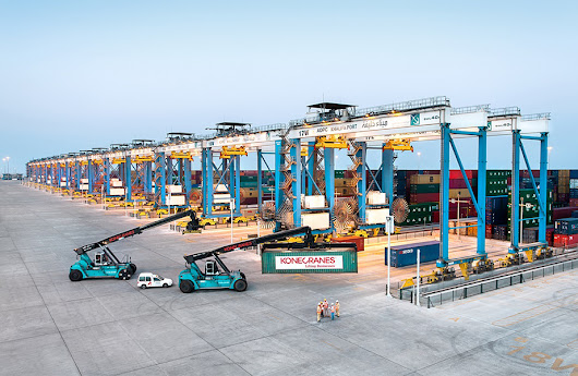 Konecranes wins Middle East port automation deal - Latest Maritime & Shipping News Online - The Maritime Standard