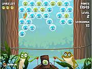 Jogar Bubble frog Jogos