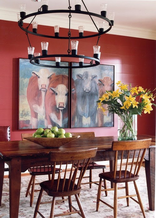 11 Red Decorating Ideas for Every Room - Town & Country Living