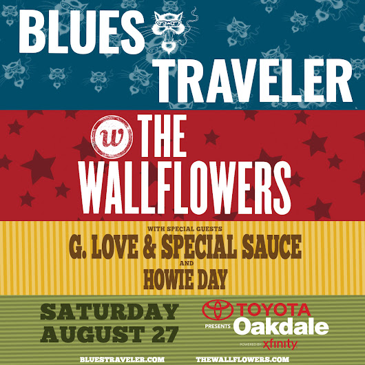 Blues Traveler & The Wallflowers at Toyota Oakdale Theatre Ticket Giveaway