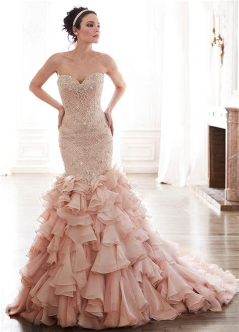 Picture Of romantic valentines day wedding dress ideas 20