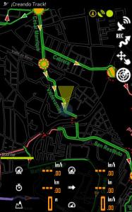 Mapa ciclista