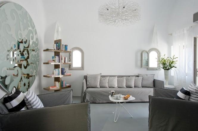 grace santorini white living area
