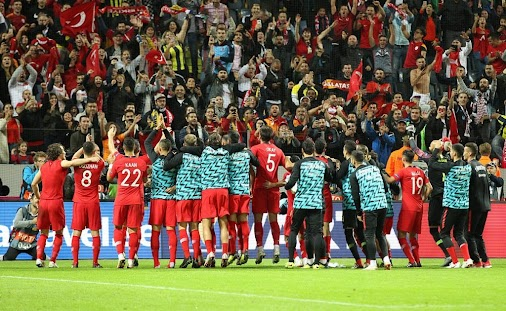 A superb 3-2 win by Turkey against Sweden - this young side showing great promise! See story for match...