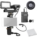 Movo Smartphone Video Kit V2 with Wireless Lavalier Mic