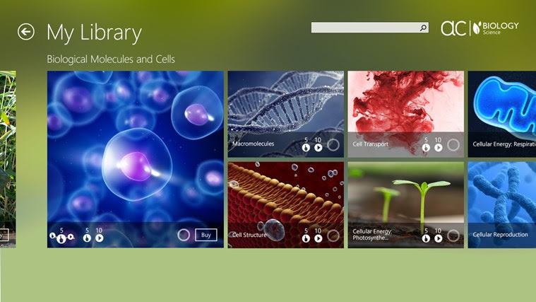 AC Biology snímek obrazovky 1