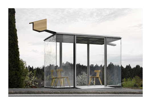 Austria implements several architectural bus shelters into its villages - Abacus Architects