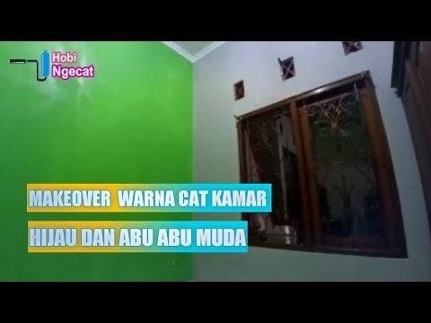 Konsep Makeover Warna Cat Kamar Tidur Kombinasi Hijau Dan ...