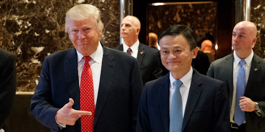 Alibaba founder Jack Ma meets with Trump, pledges to create 1 million US jobs