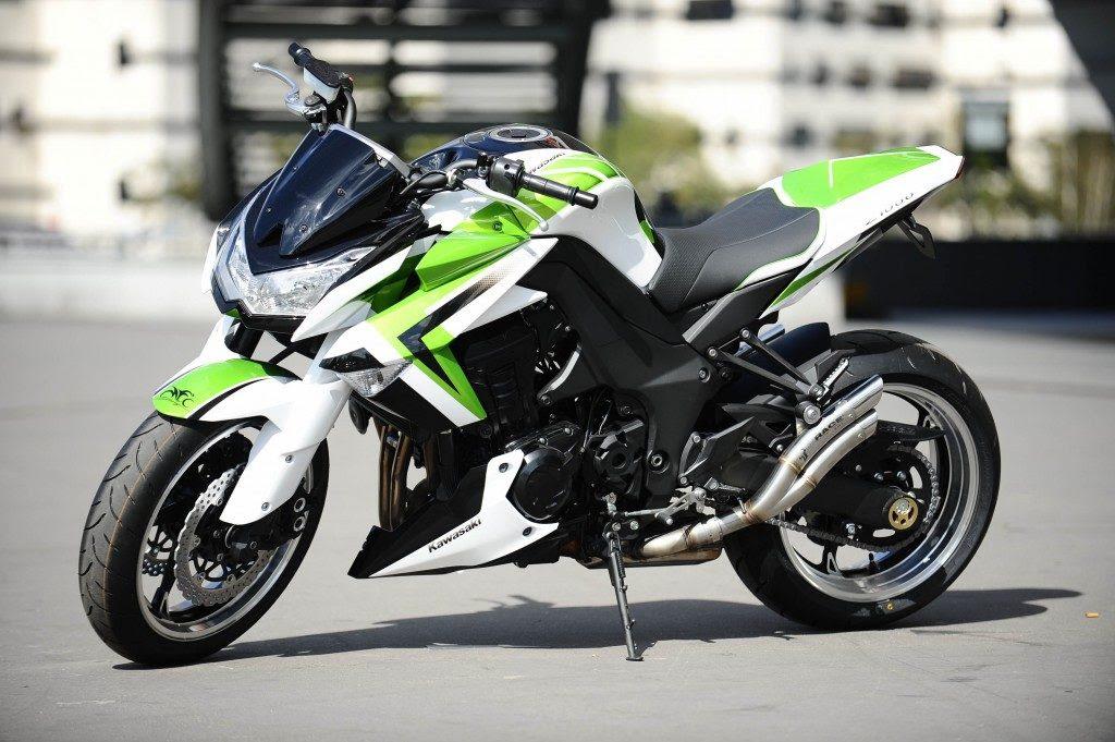 Kawasaki Z1000 Mfc Jrm Colors