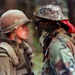 Army & Warrior faceoff 1990