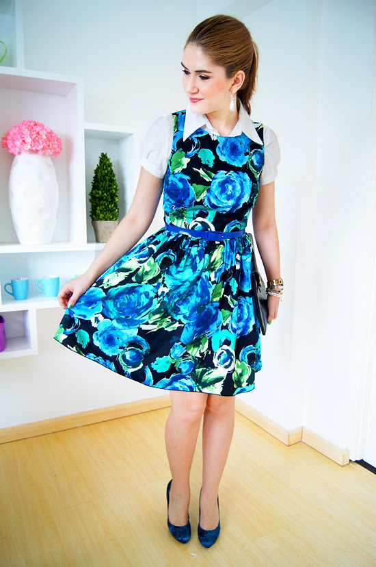 Floral dress by The Joy of Fashion (5)