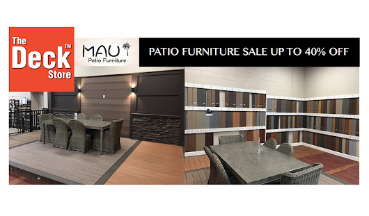 Grand Opening Markham – Patio Furniture Sale up to 40%