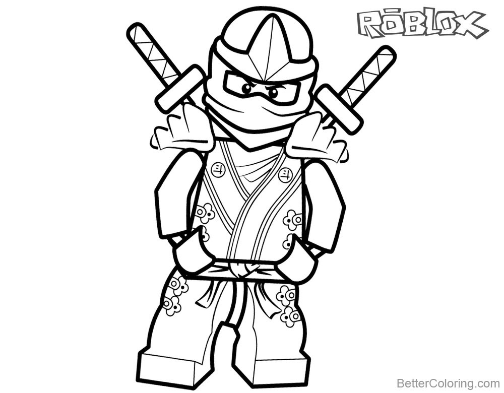 Coloring Pages Roblox. Piggy, Adopt Me and others. Print for free | 780x1000