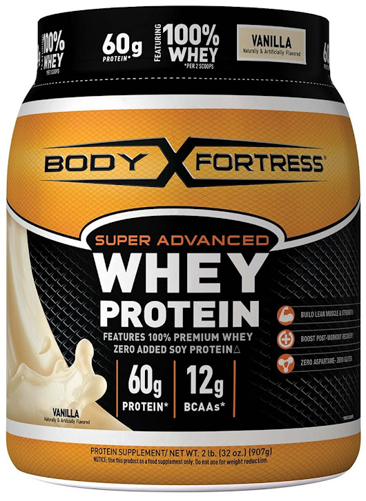 Body Fortress Super Advanced Whey Protein Powder, 2 Pounds