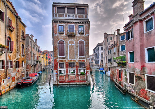 Two canals - Venice