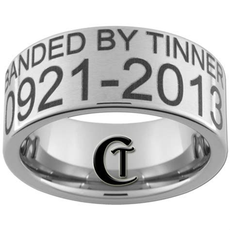 Build your own 10mm Pipe Satin Finish Duck Band Ring.