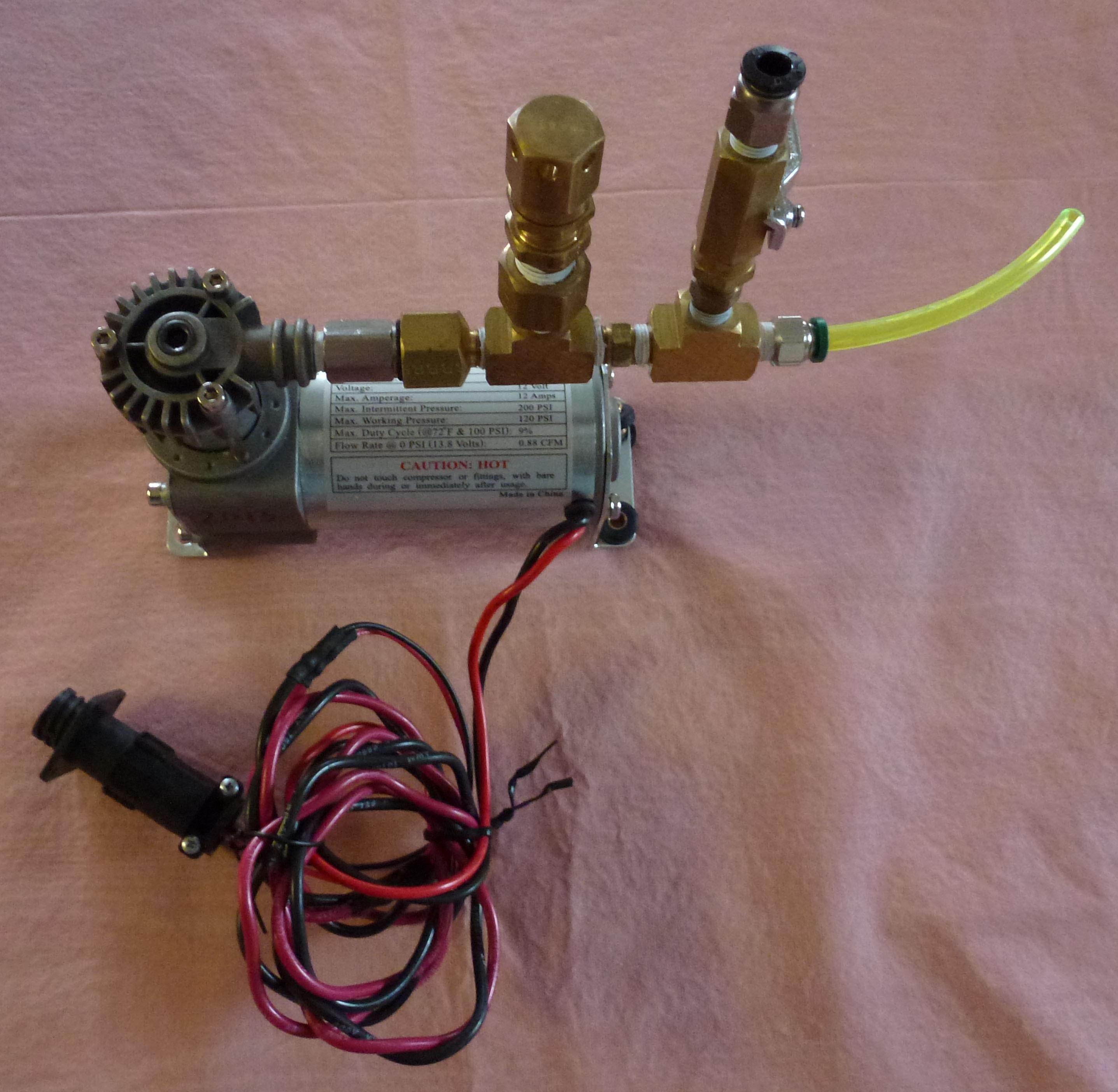 Air Compressor 12 Volt Solenoid Wiring Diagram - Wiring ...