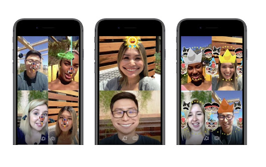 Facebook Adds New AR Games to Messenger Video Chats