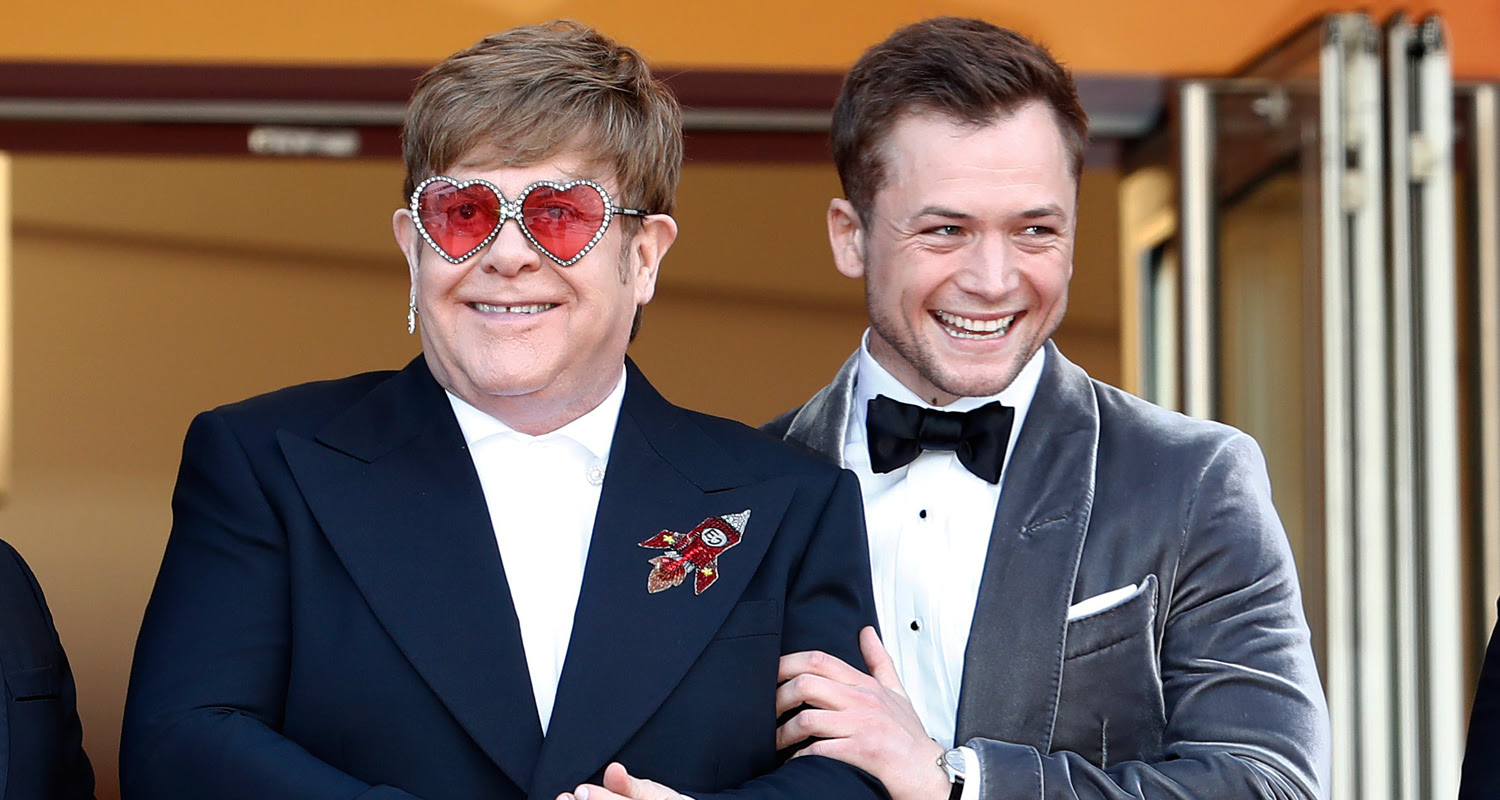 Elton John Defends Taron Egerton's Role in 'Rocketman'. Taron became the subject of criticism for being a straight actor playing a gay