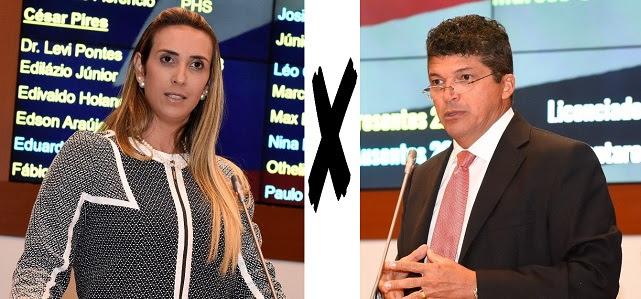 Andrea Murad e Marcos Caldas batem boca na Assembleia