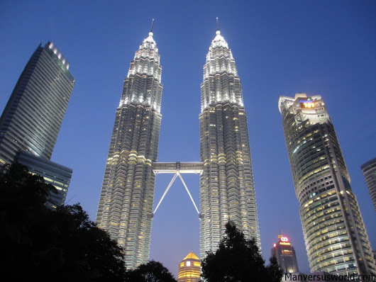 Top 10 facts about the Petronas Towers | Man vs World