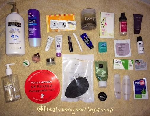 #Empties #Review for July 2016. #Aussie #Benefit #GoSmile #GoldBond #incoco #OleHenriksen #ByTerry #...