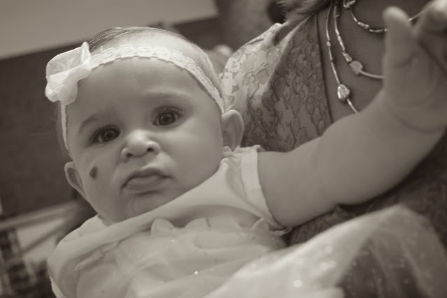 Scarlett's Baptism July 2012 5