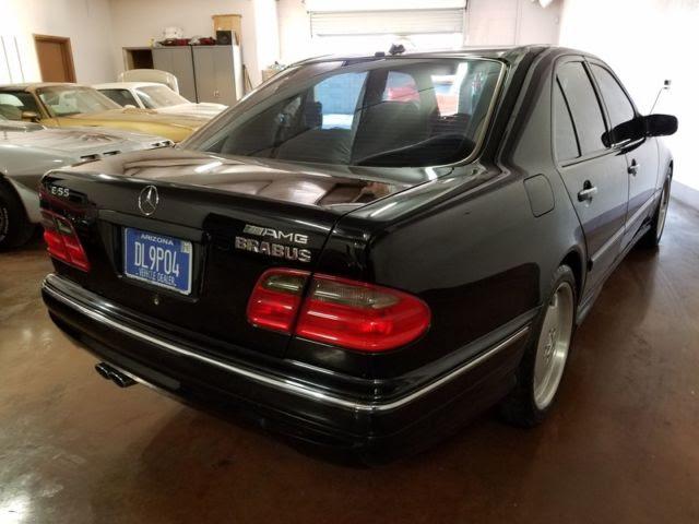 2000 Mercedes W210 E55 AMG, BRABUS 400HP 5.8 litre, 200 MPH Brabus Cluster