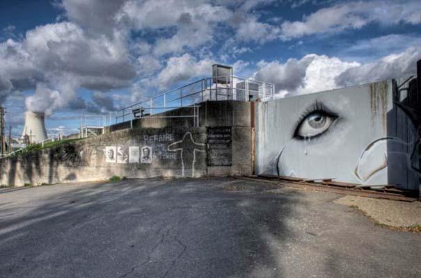 Doel: Το εγκαταλελειμμένο χωριό που παραδόθηκε στην τέχνη του δρόμου (9)