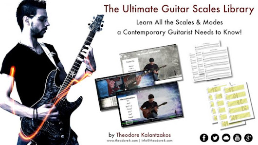 [Course] The Ultimate Guitar Scales Library! | Theodore Kalantzakos, LLCM (TD)