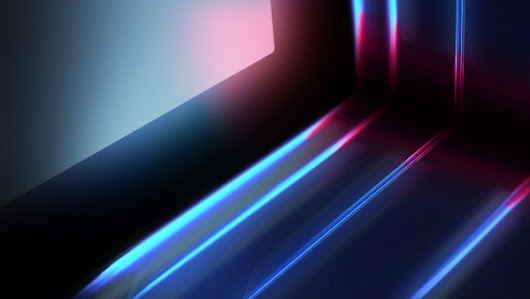 Abstract blue red lights | 4K UHD 3840x2160 desktop wallpapers, HD 1920x1080, 5K 5120x2880 image
