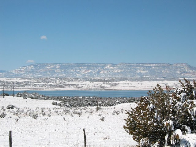Highway 84 North, close to Santa Fe, NM