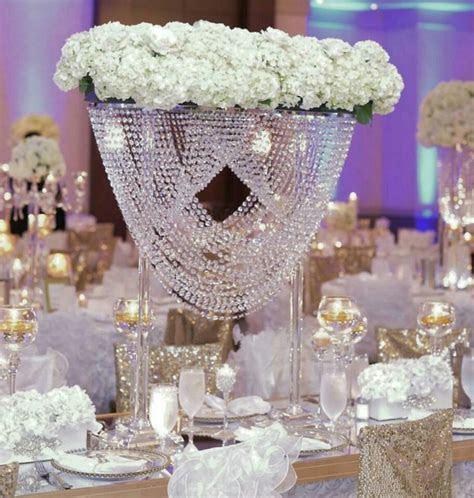 80cm Tall acrylic crystal table centerpiece wedding