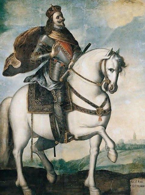 King Ferdinand III Of Castile And Leon by Francisco De Zurbaran