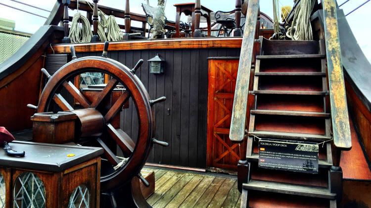 El Galeã³n Andalucãa Docked In Old San Juan Puerto Rico