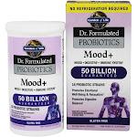 Garden of Life Dr. Formulated Probiotics Mood Shelf Stable 50 Billion CFU 60 Vegetarian Capsules