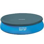 Intex Easy Set Swimming Pool Cover, Blue, 8'