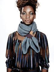 Cherry Scarf Knit Pattern