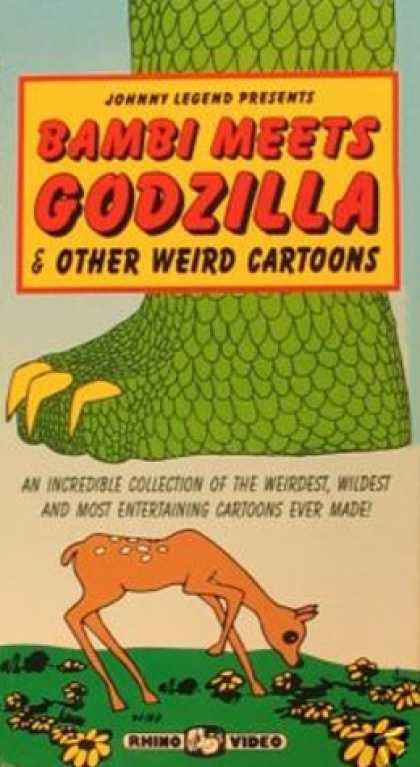Godzilla Meets Bambi VHS
