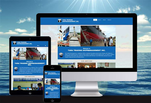 Shipping Company Website Design for Tara Trading - Pilo Campaner