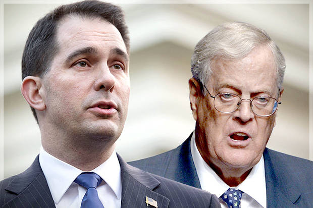 This is how they'll gut American democracy: Scott Walker and the Kochs want to f**k America as bad as they did Wisconsin