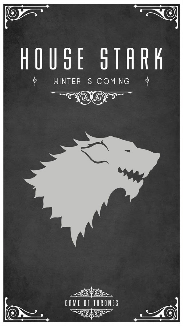 The Iphone Wallpapers Game Of Thrones House Stark
