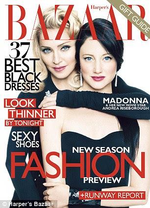 Bazar menina: Huntington-Whiteley aparece na edição de dezembro da Harper Bazaar do EUA é